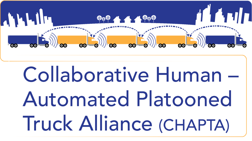 Thumbnail graphic for Collaborative Human - Automated Platooned Truck Alliance