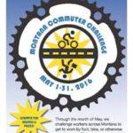 Montana Commuter Challenge 2016 Poster. mtcommuterchallenge.org