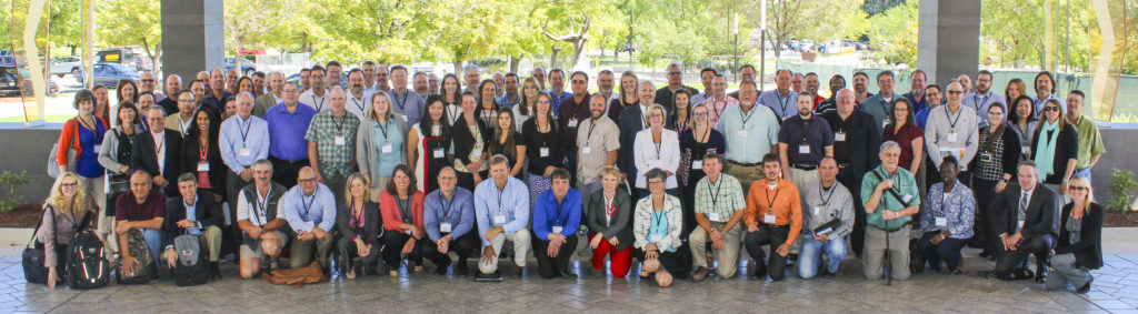 Group photo of participants at the National Working Summit on Tranpsortation in Rural America