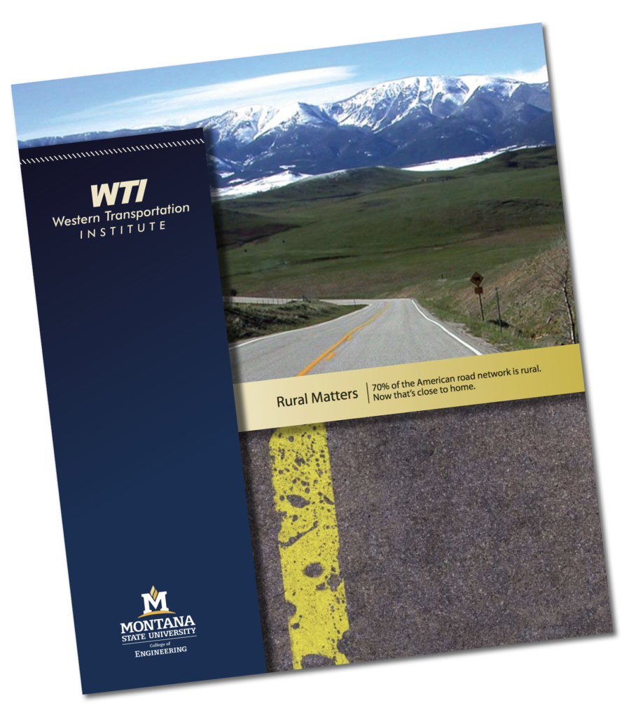 Graphic of the cover for the cover of the WTI Brochure
