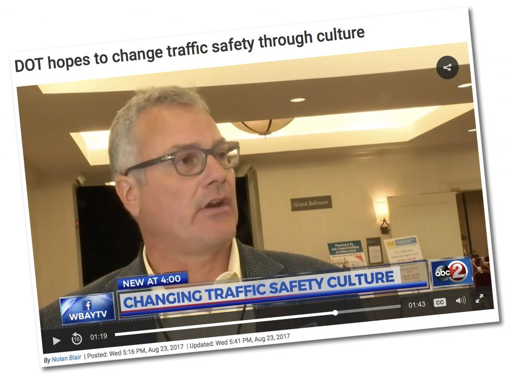 Thumbnail image of Nic Ward answering questions relating to safety Culture for abc2 in Appleton Wisconsin.