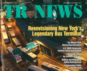 Cover of December 2017 TRNews Magazine - Feature Article One Stop Shop