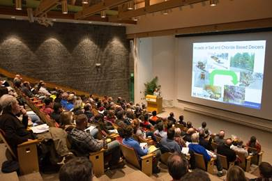 Laura Fay presents at National Ecosystems Institute