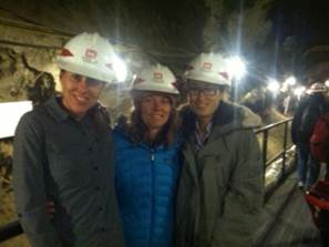Event participants tour the Permafrost Tunnel Research Facility and the Trans-Alaska Pipeline System